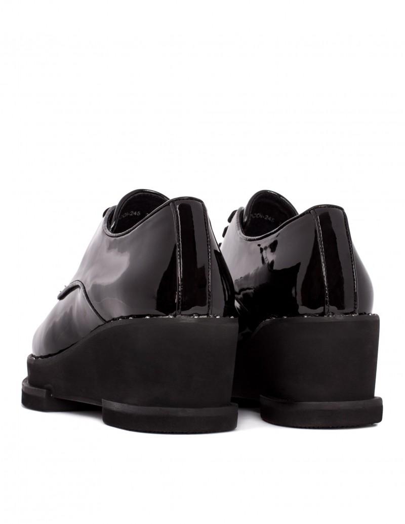 Zapato Sixty Seven cordón terciopelo