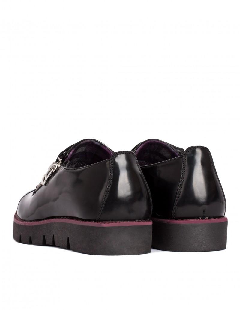 Zapato Maria Mare cremallera lateral