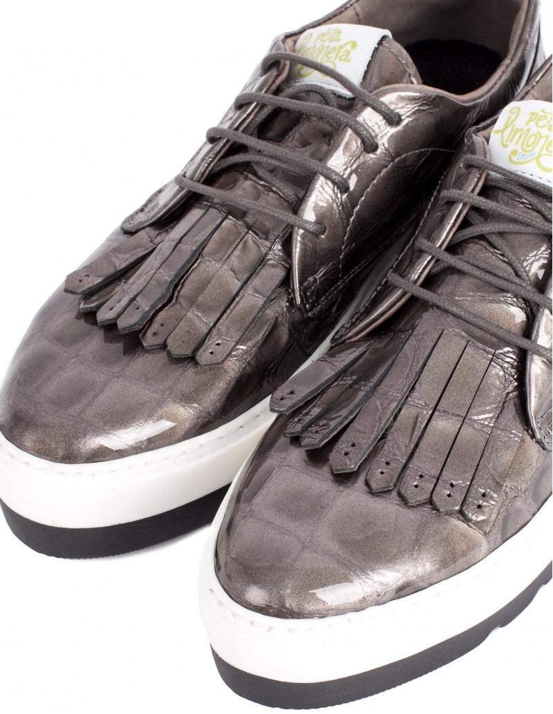 Zapato Pera Limonera charol efecto coco