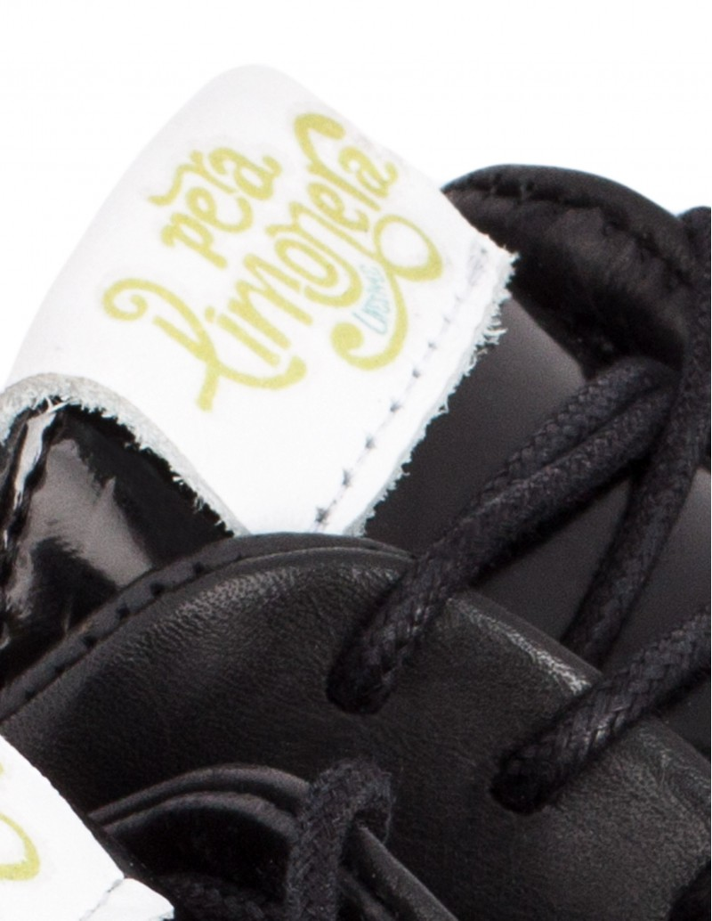 Zapato Pera Limonera suela bicolor