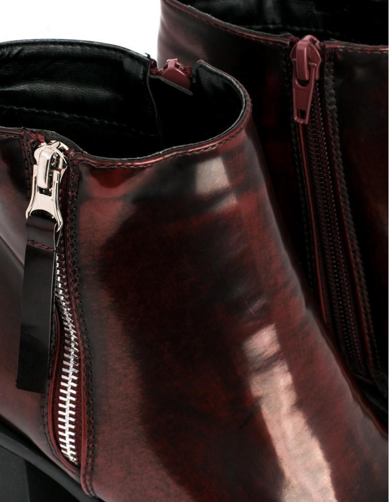 Botín Mustang cremallera lateral