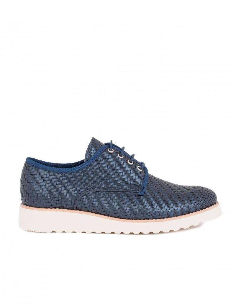 Nature zapato trenzado marino