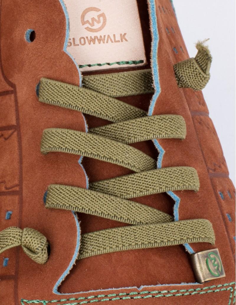 Slowwalk deportivas cuero flexibles