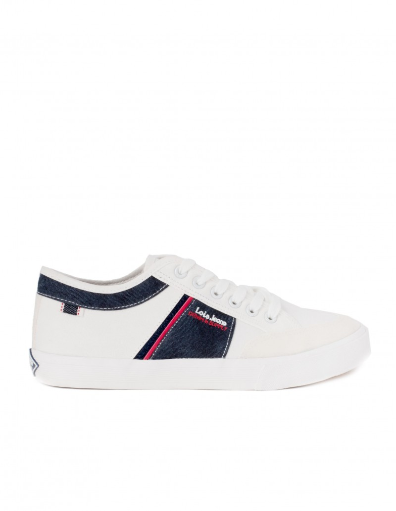 Lois zapatillas sneakers blancas