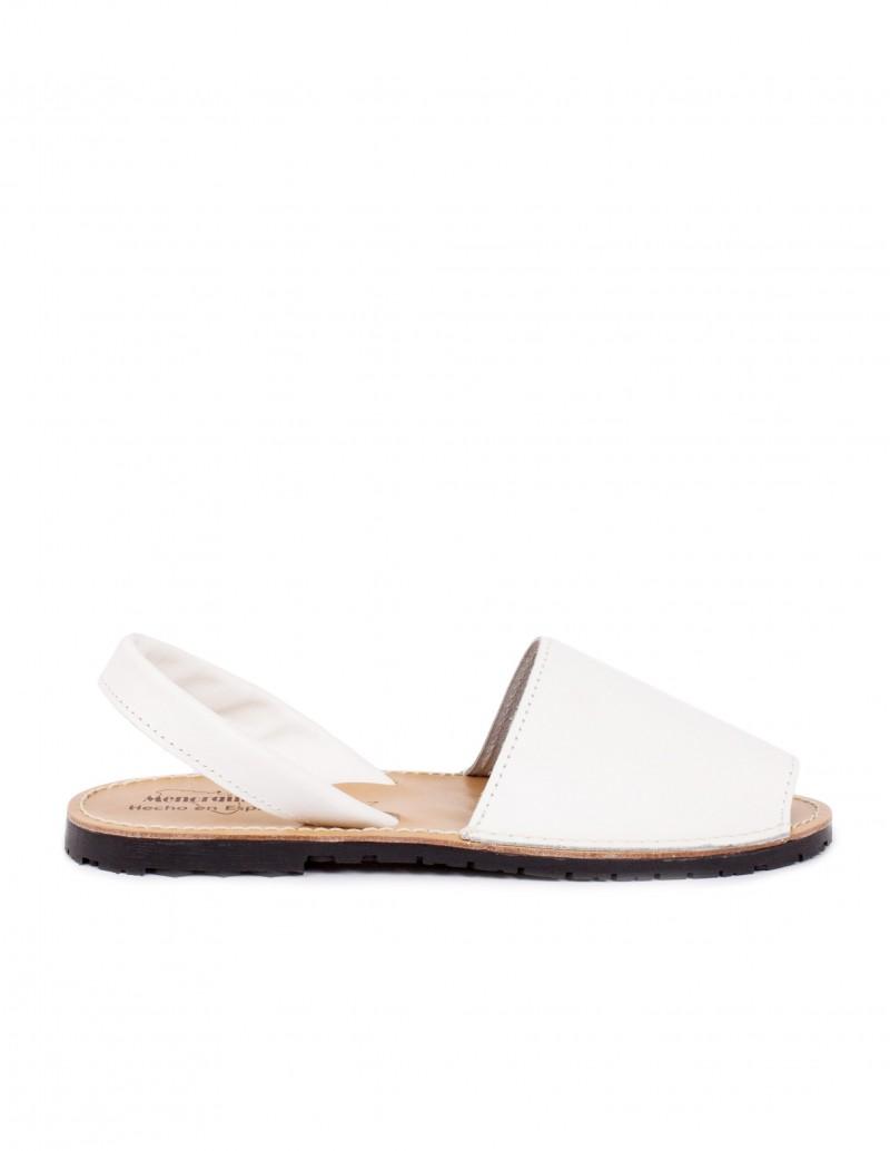 piel sandalias menorquinas