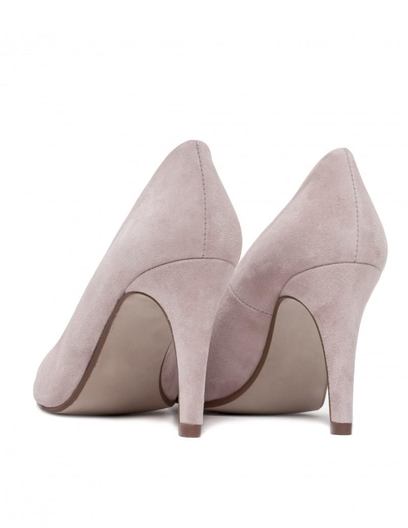 zapato stiletto beige
