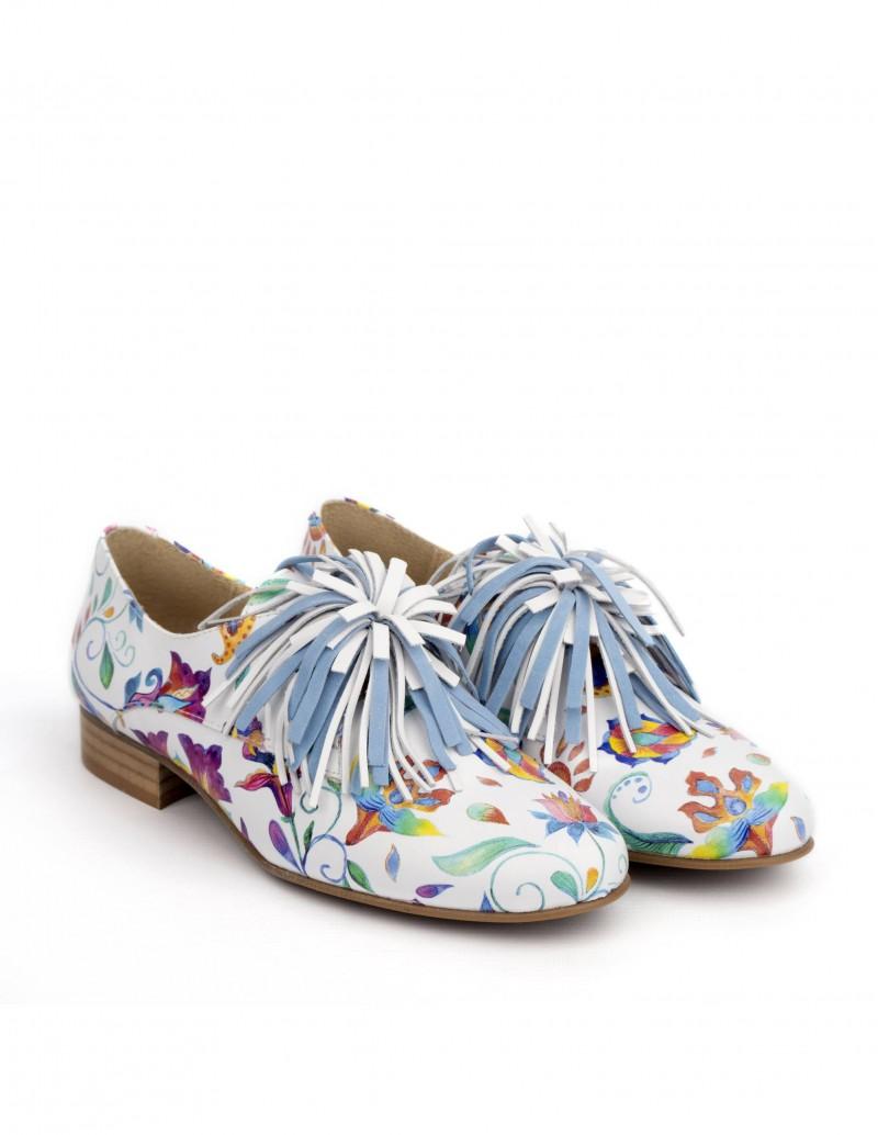zapatos salonissimos estampado miró