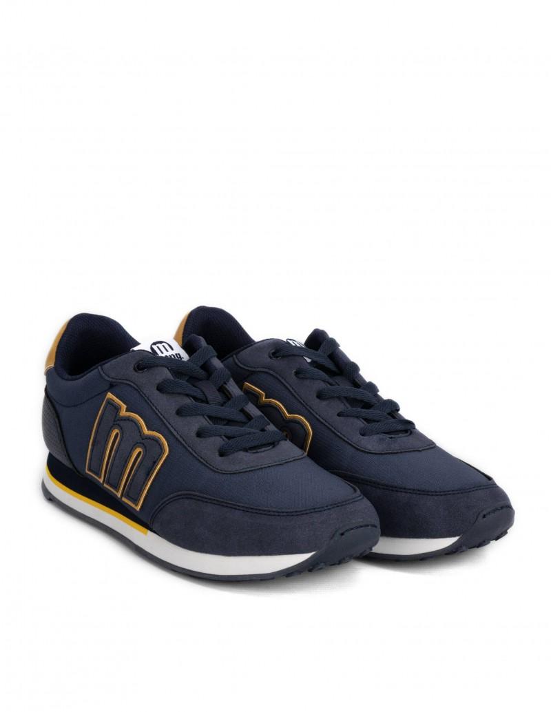 zapatillas azules mustang hombre