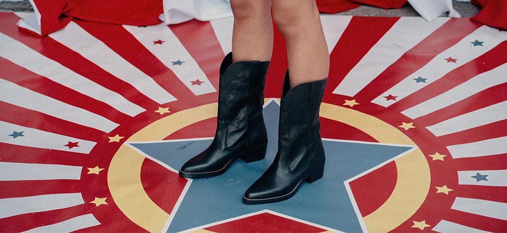 botas cowboy caña alta