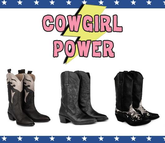 tendencias zapatos mujer botas cowboy