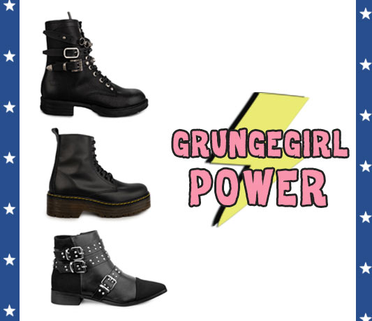 tendencias zapatos mujer botas moteras