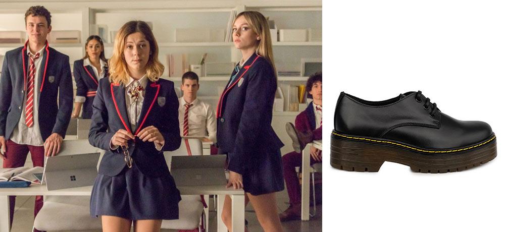zapatos masculinos mujer serie Elite