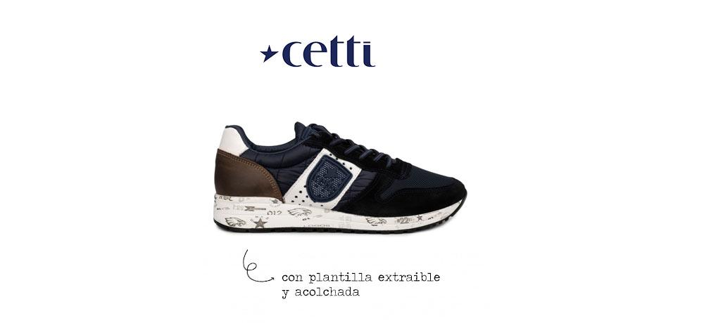 zapatillas cetti hombre