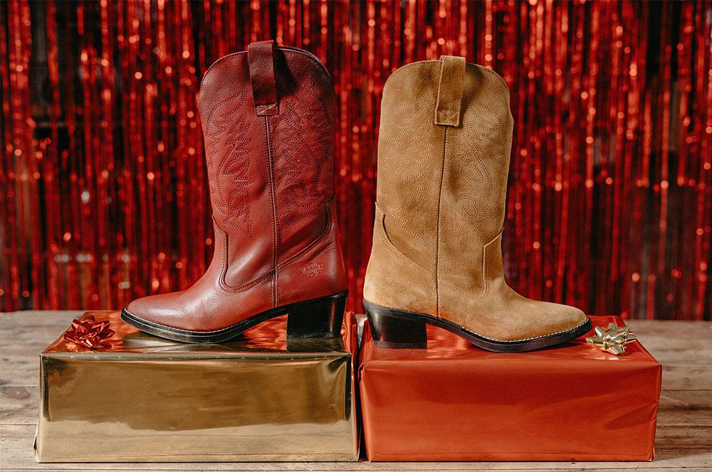 idea de regalo para navidad botas cowboy