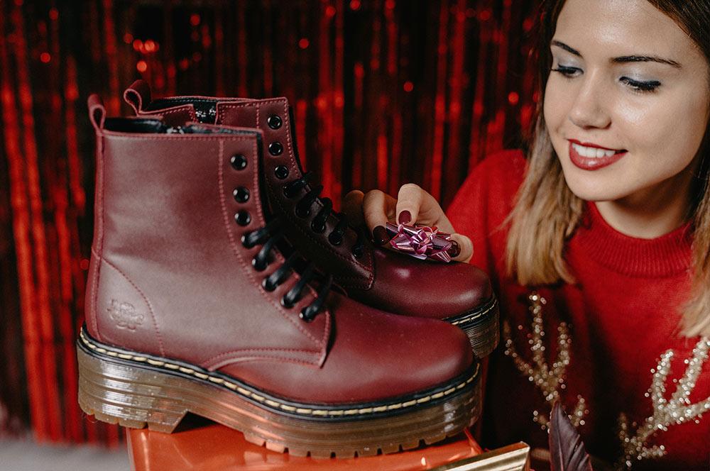 idea regalo navidad mujer botas militares