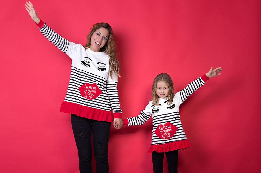 ropa igual madres e hijas