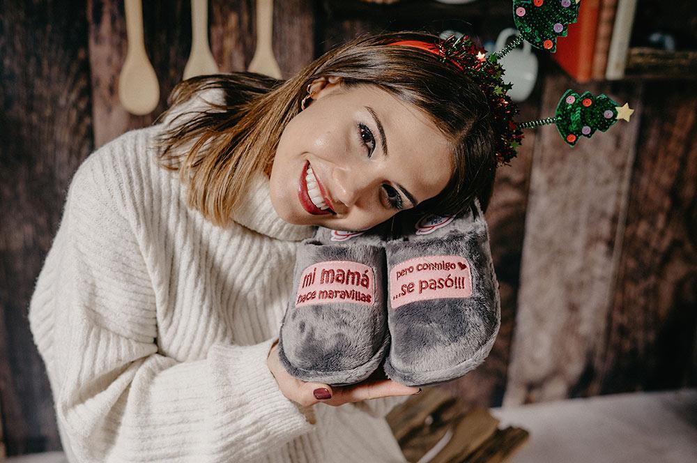 idea regalo navidad zapatillas divertidas