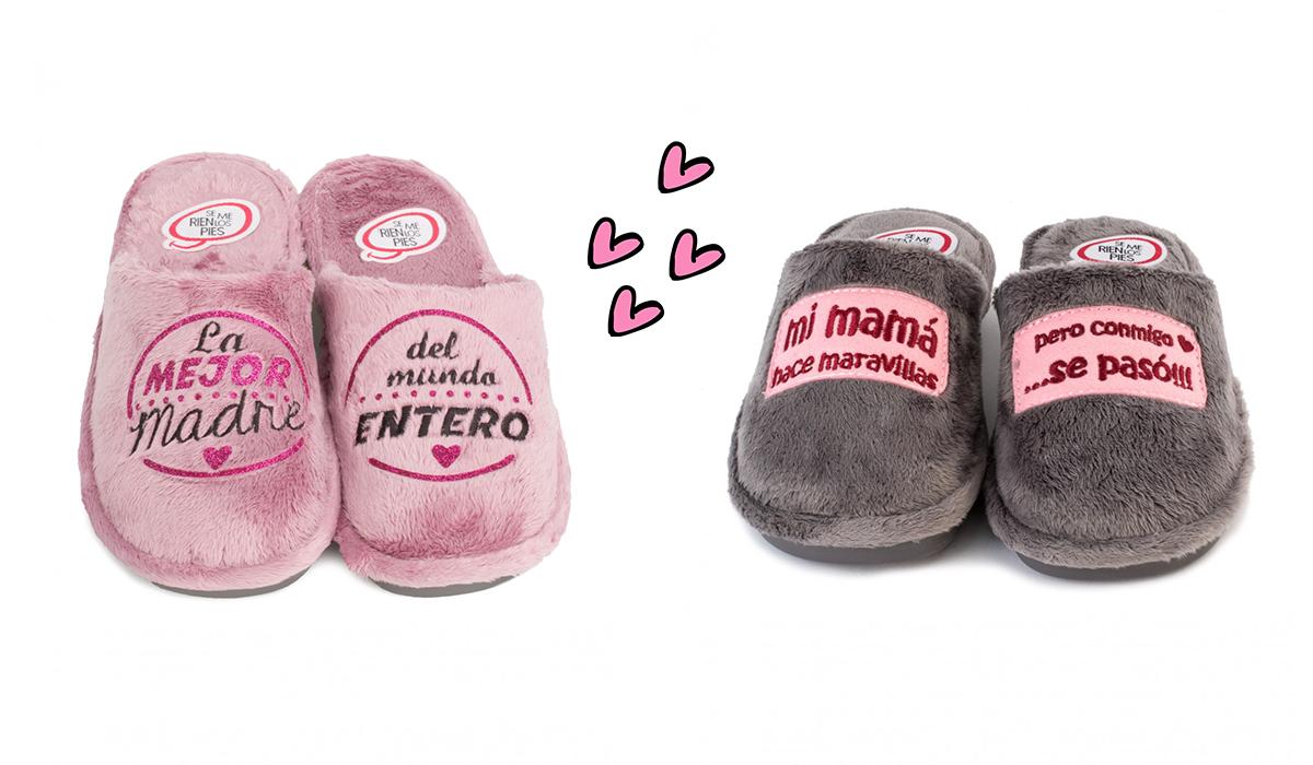 zapatillas de casa originales para madres