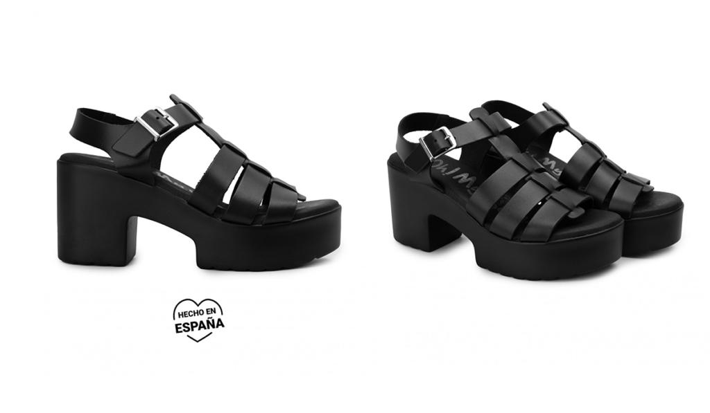 sandalias comodas plataforma