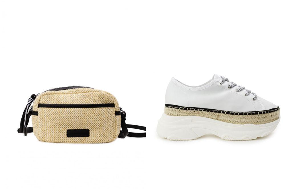 combinar zapatos y bolso para diario
