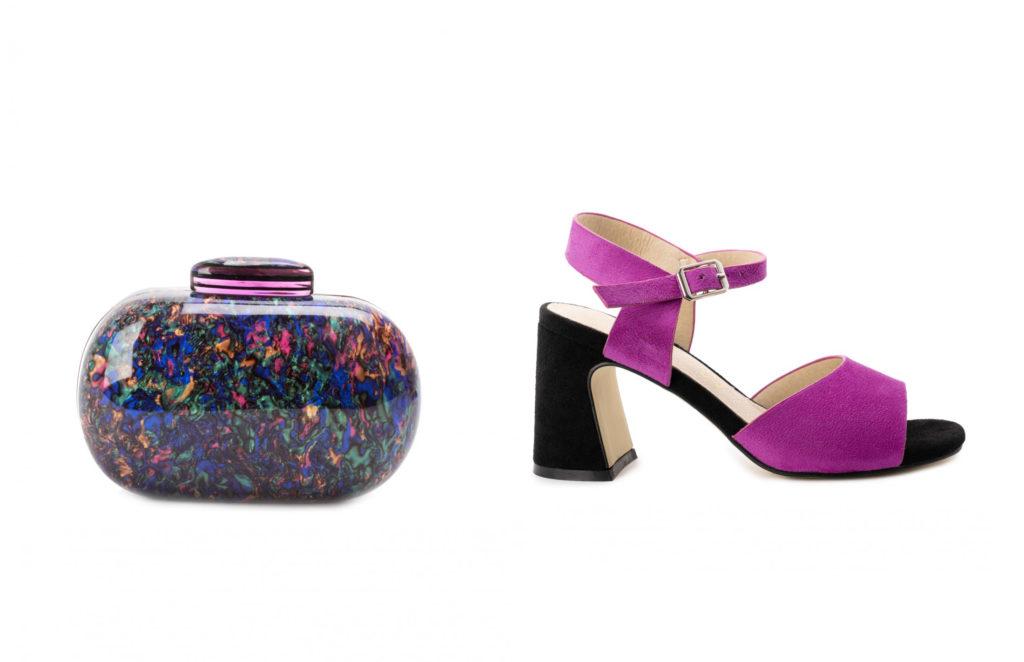 combinar zapatos y bolsos de fiesta