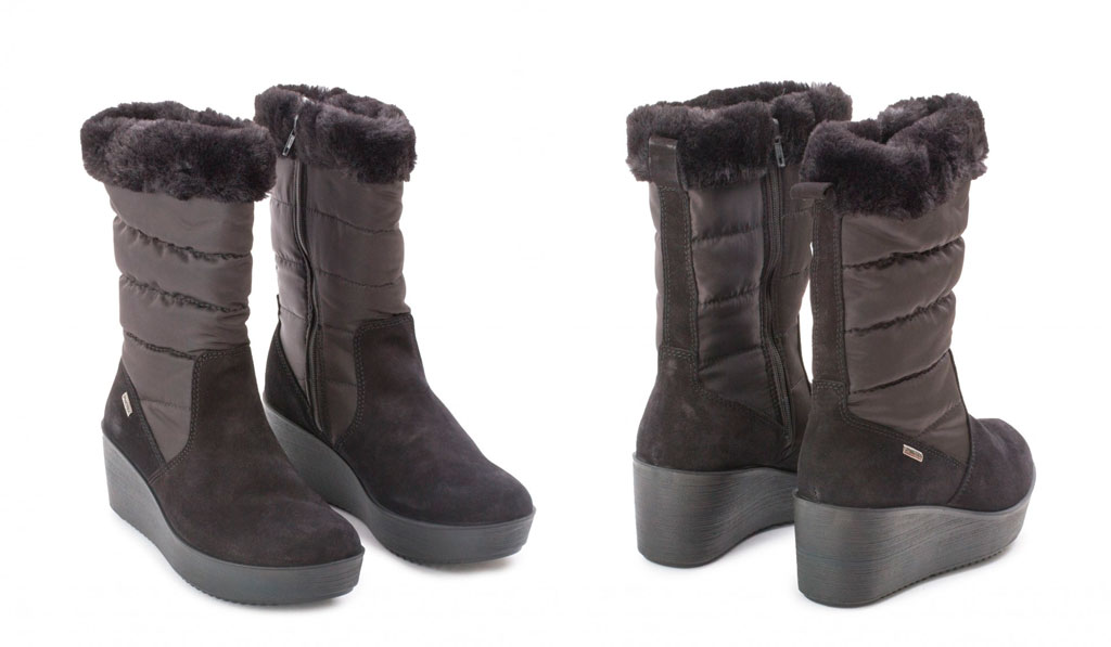 botas impermeables mujer negras